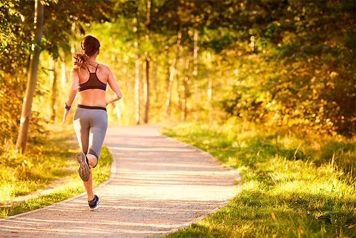 Corrida alivia o estresse