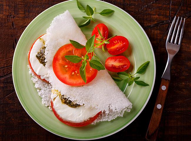 recheios saudáveis para tapioca