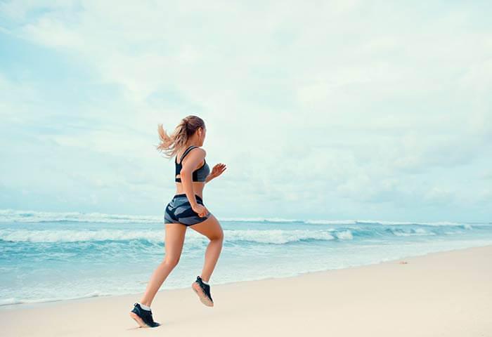 Manter a forma durante as férias