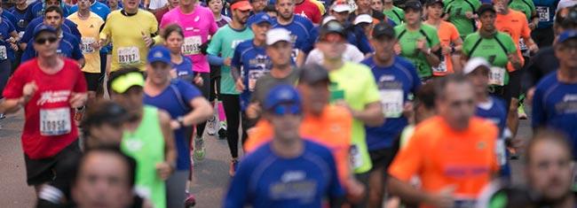 O crescimento da maratona no Brasil