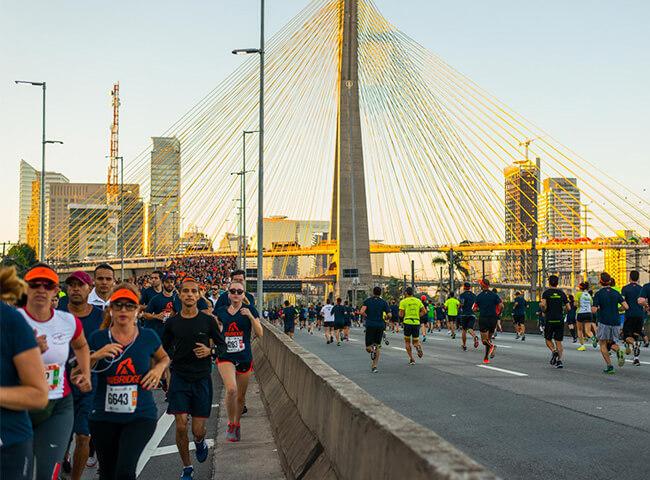 corridas com ponte