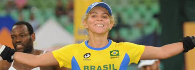 Ana Márcia completou 100 maratonas