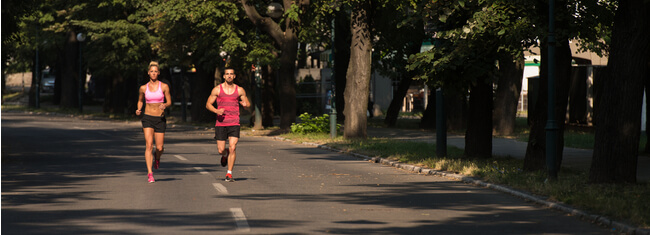 Corrida combate a depressão