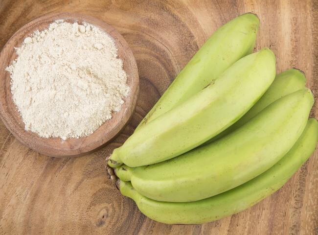 Os benefícios da banana-verde para o treino