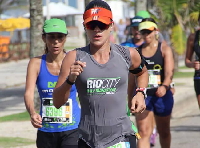 Corredora encarou uma meia maratona sem nunca ter corrido