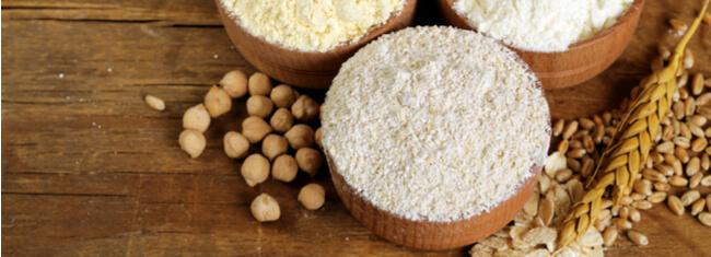 Farinhas alternativas para incluir na dieta e seus benefícios