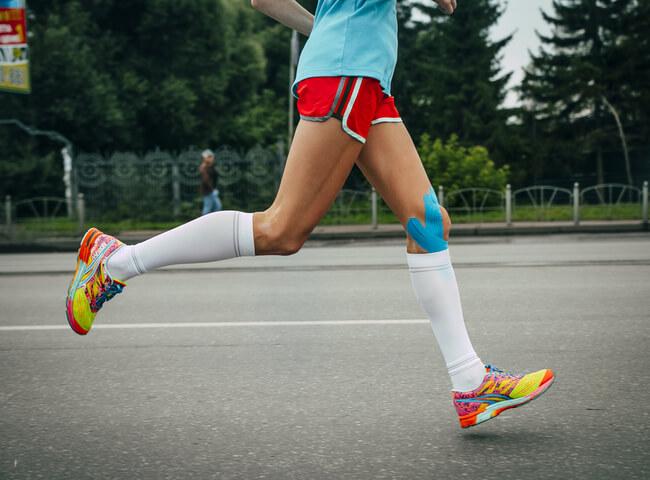 Corra das dores no joelho
