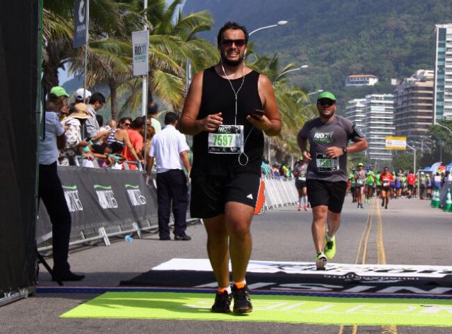 Corredor perdeu mais de 50 kg através do esporte
