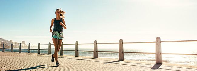 Correr no exterior
