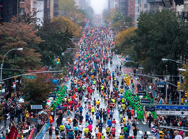 Inscrições para Maratona de Nova Iorque