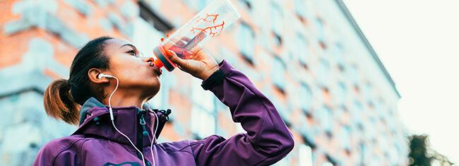 Hidratação em diferentes distâncias