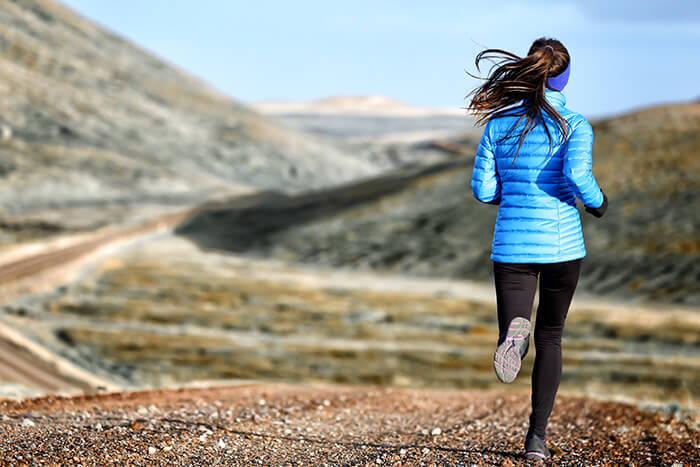 correr melhor no frio