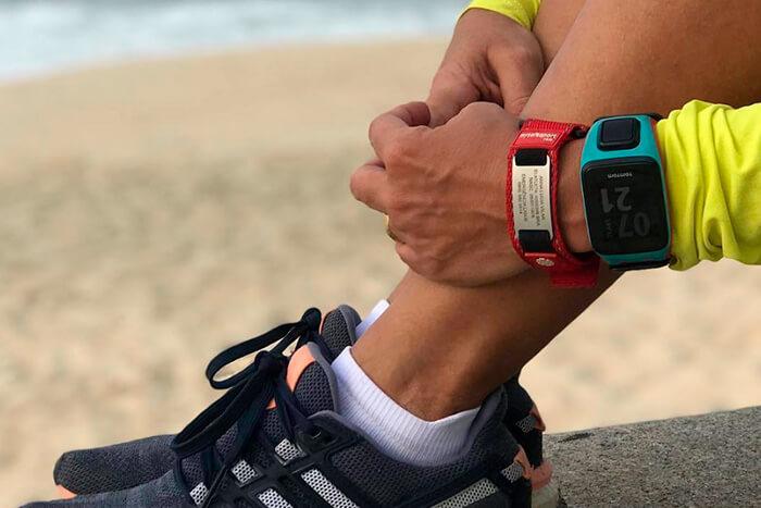 pulseira de corrida