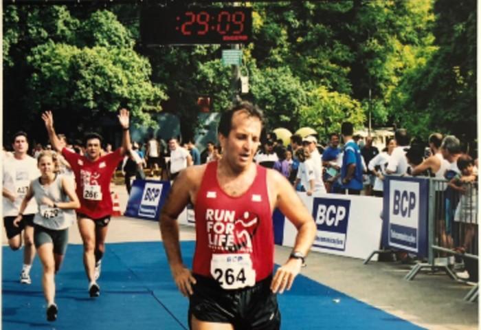 Alberto Banach, o colecionador de maratonas