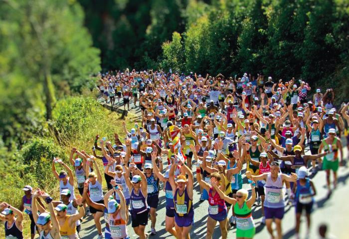 Ultramaratona de Comrades, na África do Sul